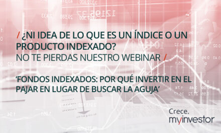Webinar divulgativo de MyInvestor sobre fondos indexados